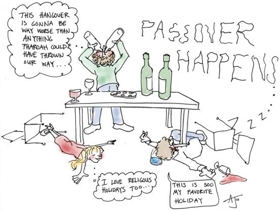 Passover Happens
