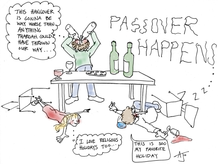 Passover Happens