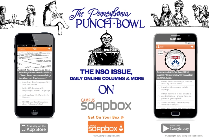 Punch Bowl Campus Soapbox Ad