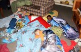 "Fraternities Enter ""Slumber Party"" Stage of Pledging"