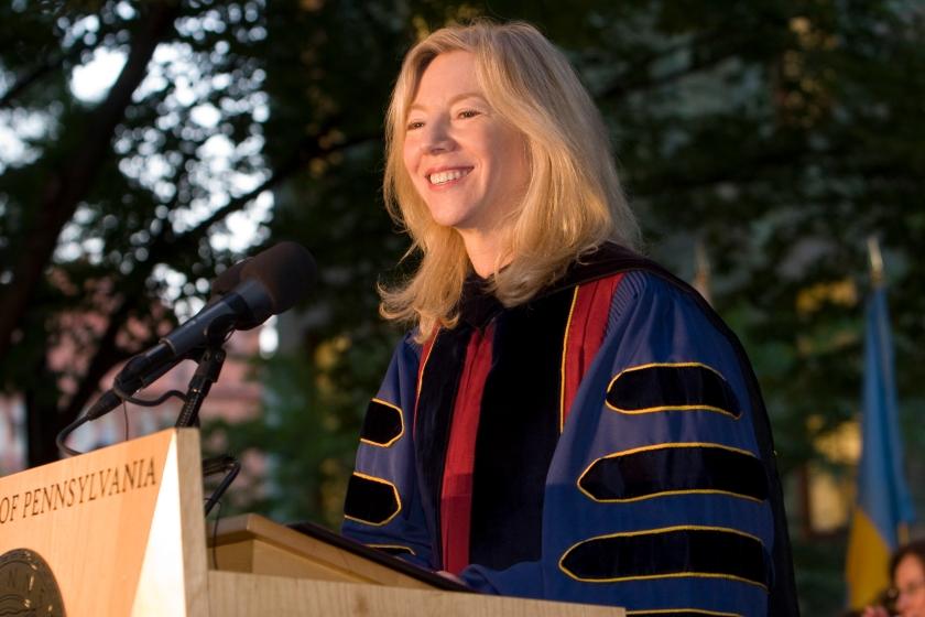 Amy Gutmann, Penn President