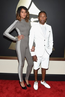 Pharrell Williams and Helen Sasichach